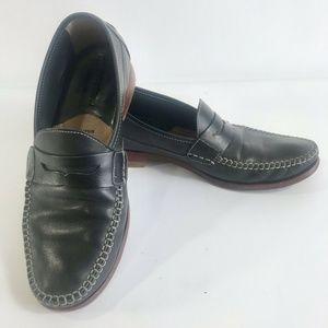 Johnston & Murphy Sheepskin Leather Penny Loafer